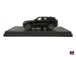 1:64 2018 Land Rover Range Rover Velar First Edition Black Color