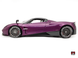 1:18 Pagani Huayra Roadster Purple Color