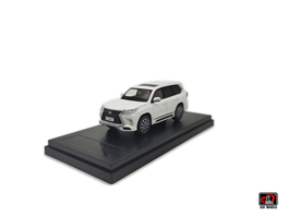1-64 LX570 Diecast model car -White color